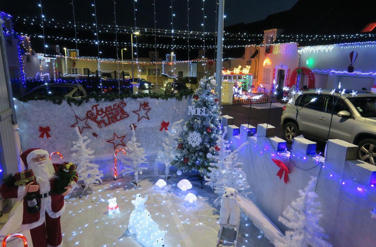 Clermont : ils illuminent tout leur quartier pour Noël