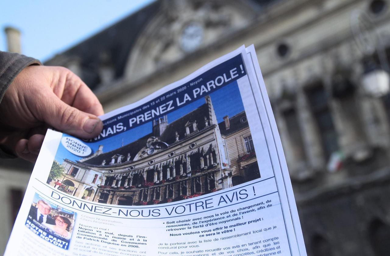 Municipales à Noyon : la drôle de campagne du Rassemblement national