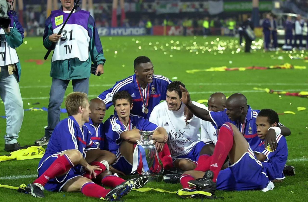 Rotterdam, théâtre de la folle soirée des Bleus à l'Euro 2000
