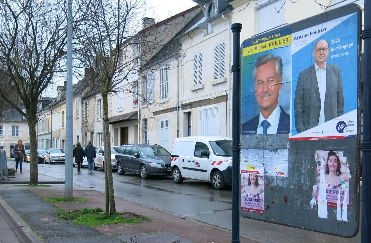 À Crépy-en-Valois, huit candidats aux municipales mais une campagne qui se fait attendre