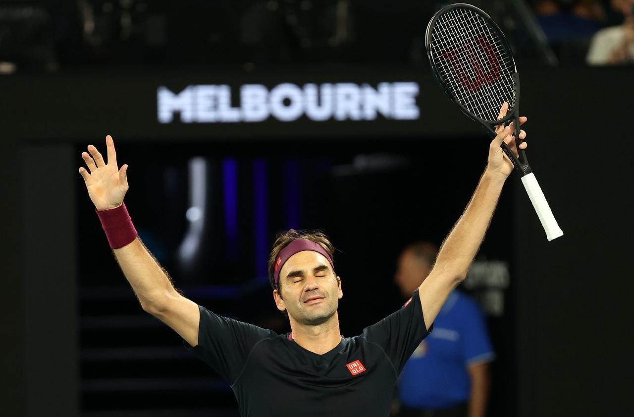 Open d'Australie : Federer a eu très chaud