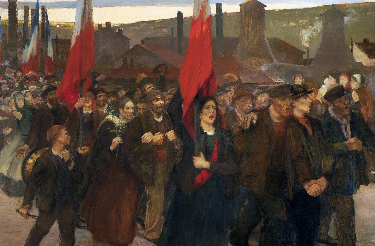 Exposition : Jules Adler, le peintre des manifs et des petits métiers