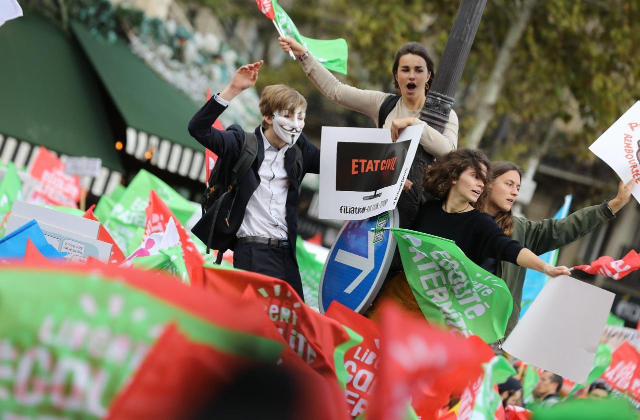 Jeunes et anti-PMA pour toutes : «Dès qu'on est contre, on nous caricature»