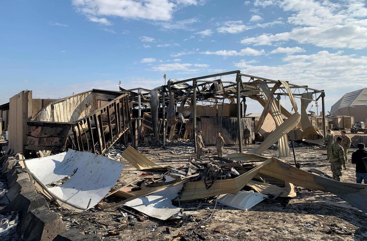 Onze soldats américains ont été blessés dans l'attaque iranienne du 8 janvier