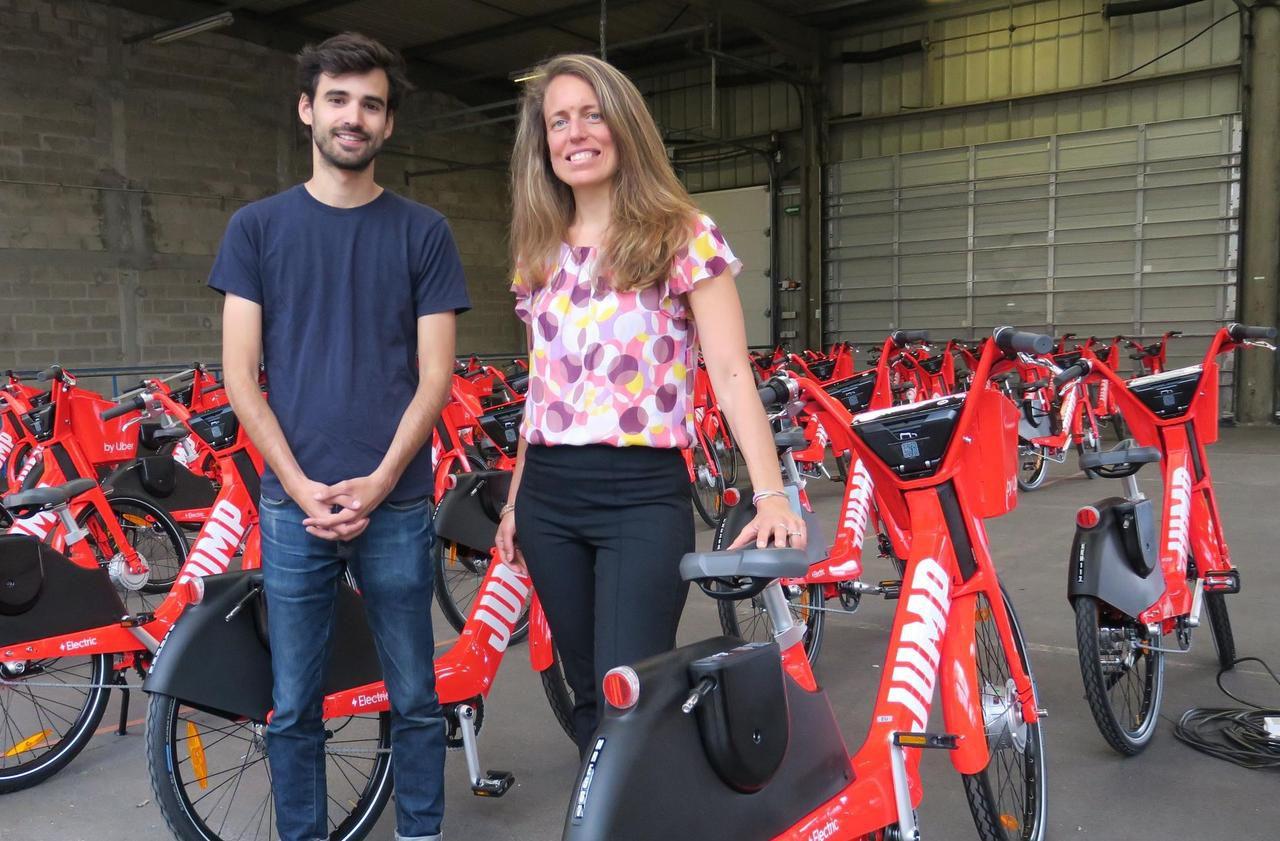 Paris : Jump, le vélo électrique de Uber, se développe à la vitesse de l'éclair