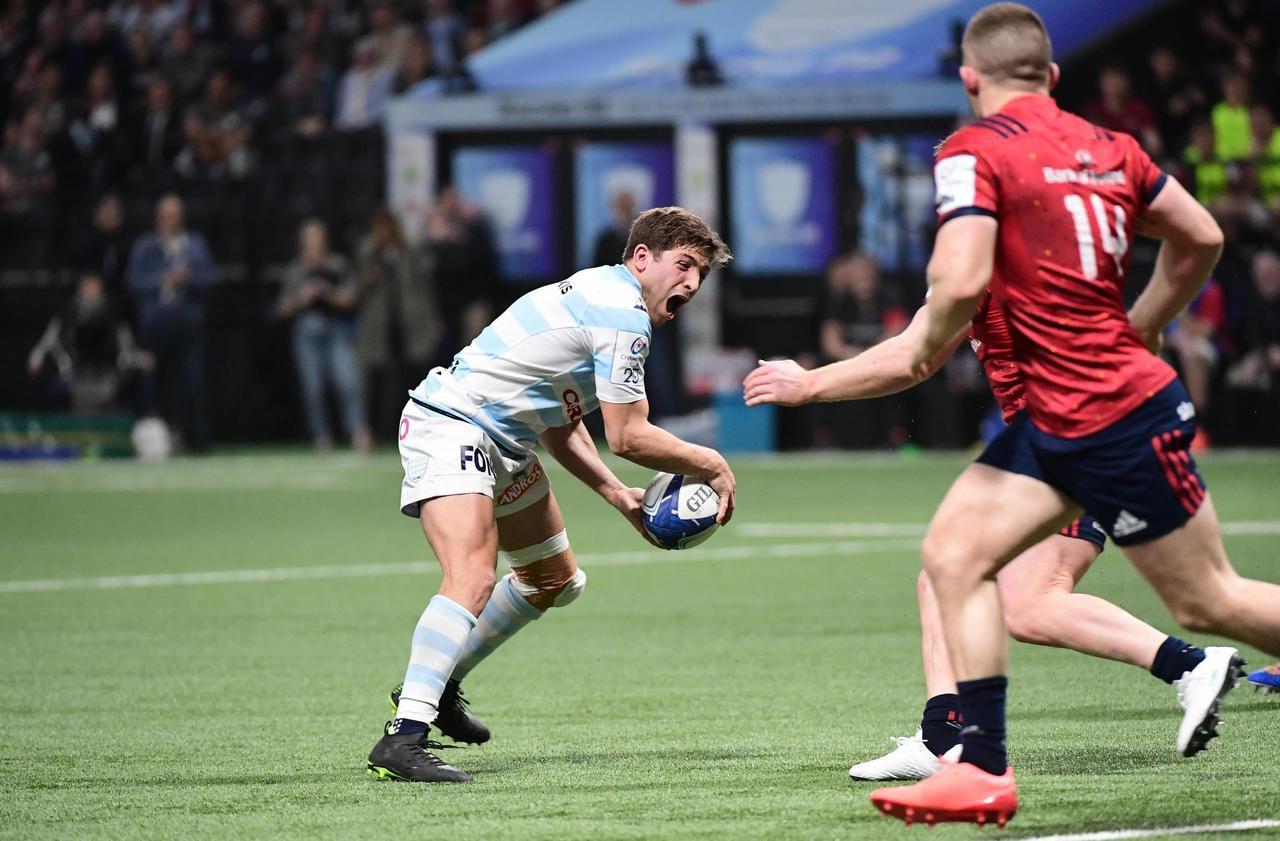 Coupe d'Europe de rugby : Iribaren, la petite pépite du Racing 92