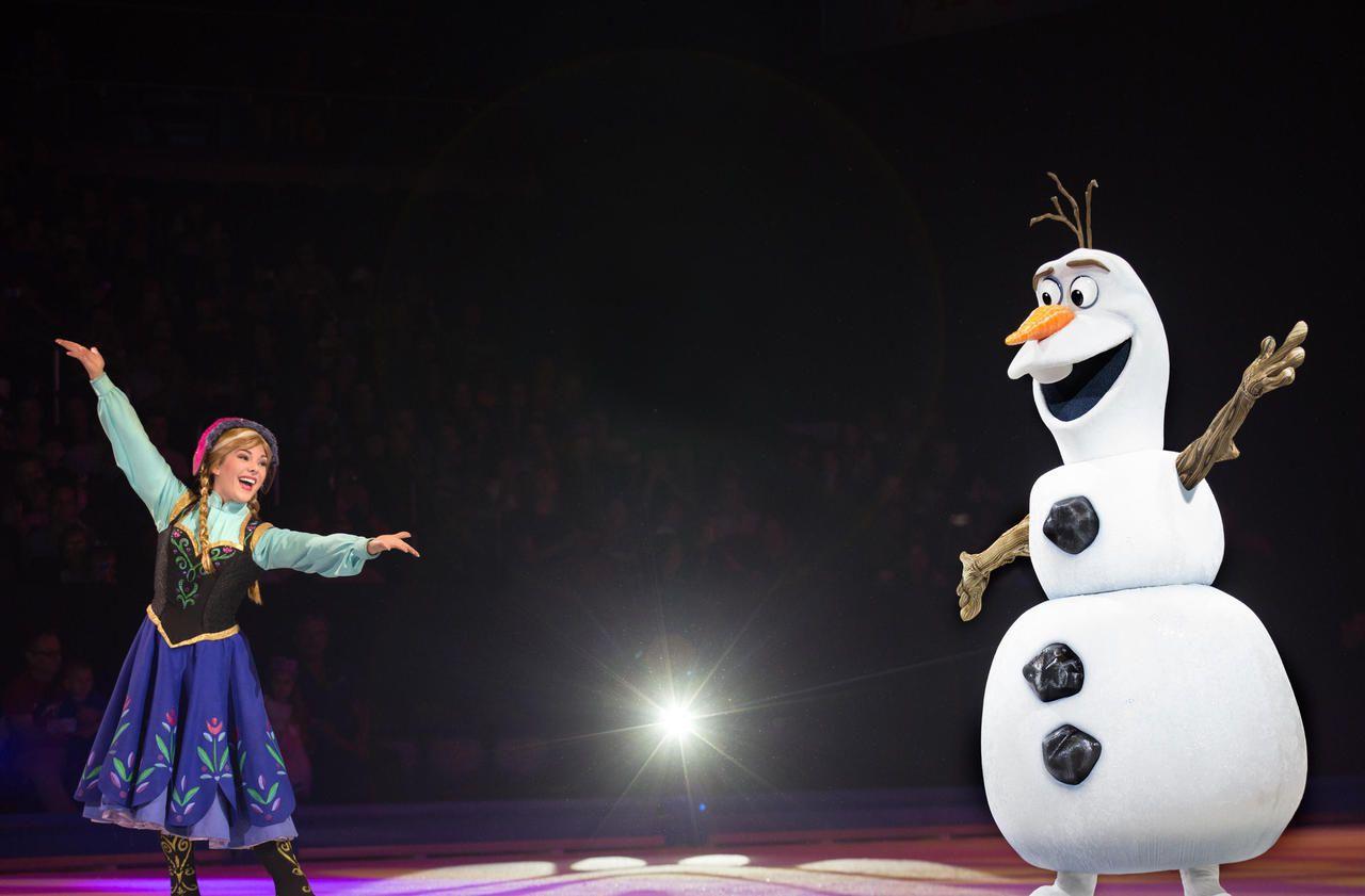Spectacle : Disney, roi des neiges et de la glace