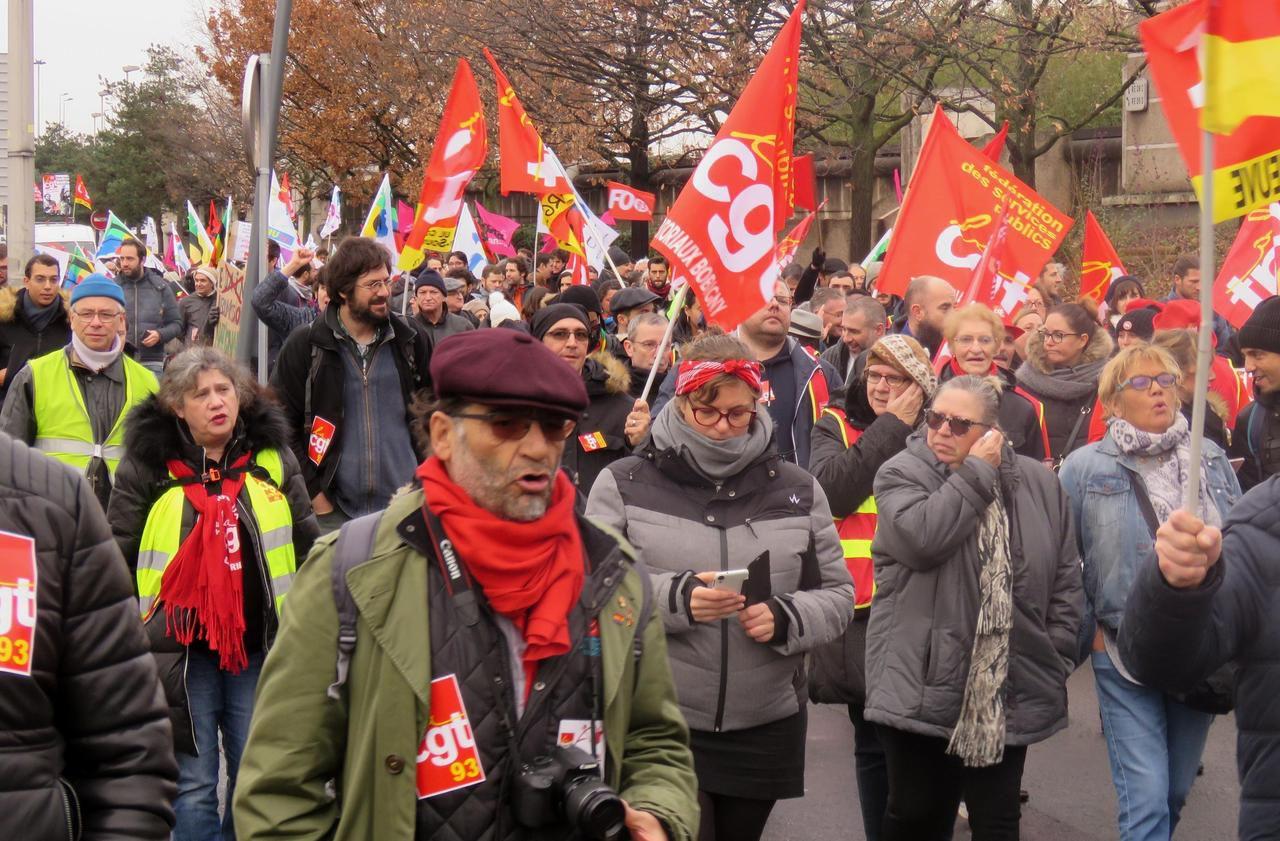 Seine-Saint-Denis : un millier de personnes dans la rue contre la réforme des retraites