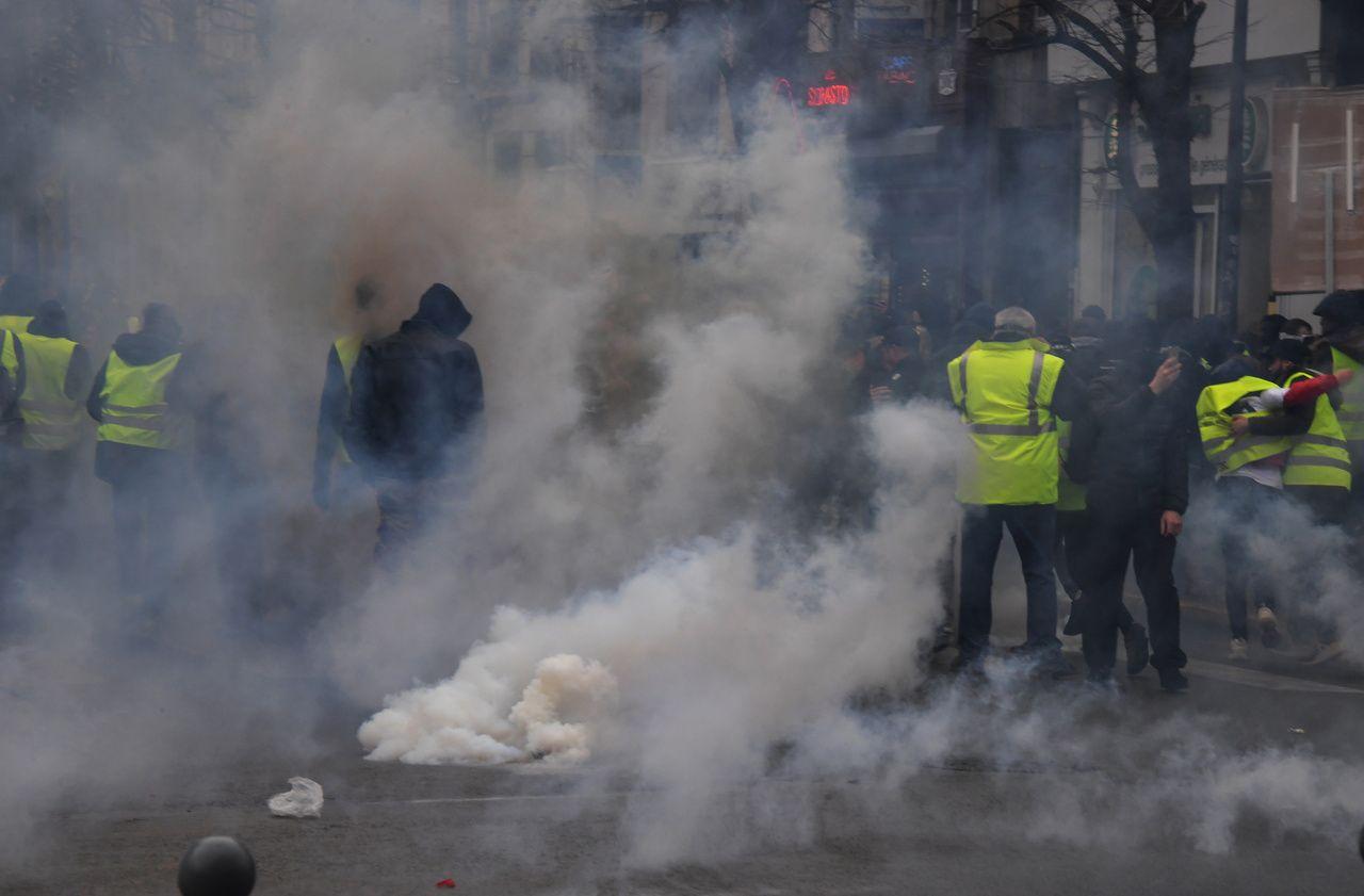 Gilets jaunes : tensions à Lille pour l'acte 67