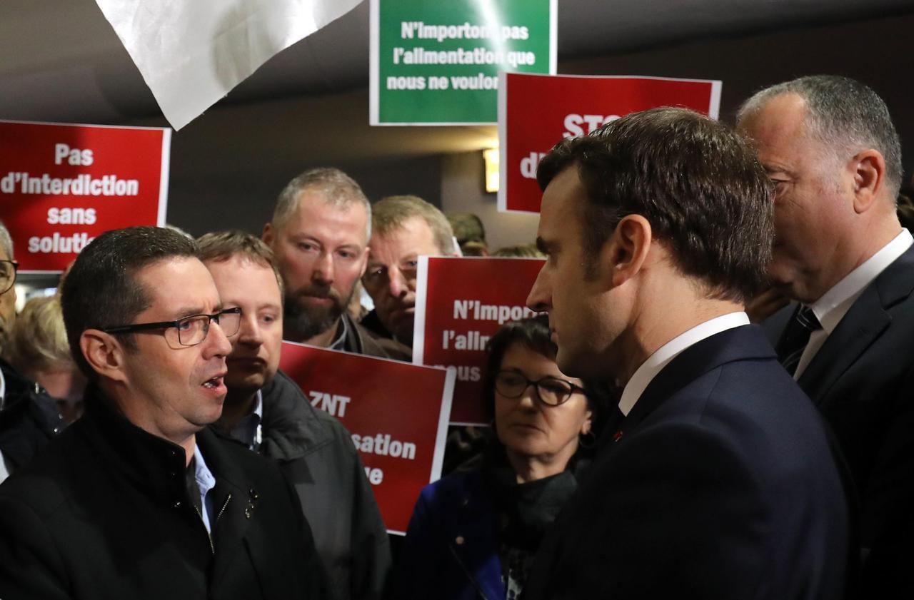 Salon de l'agriculture : la visite mouvementée d'Emmanuel Macron