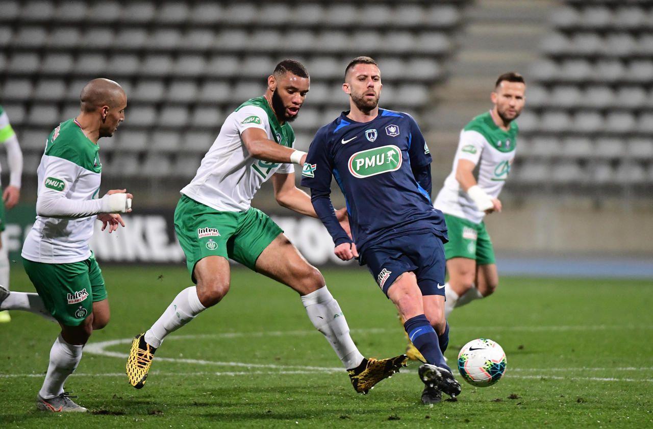Coupe de France : le Paris FC a rêvé contre Saint-Etienne