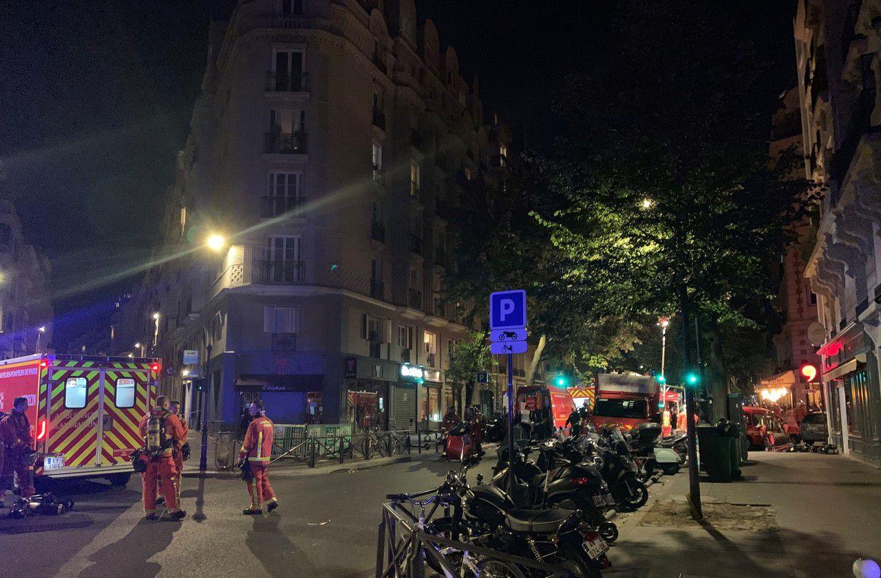 Paris : au moins trois blessés graves après l'incendie d'une maison de retraite