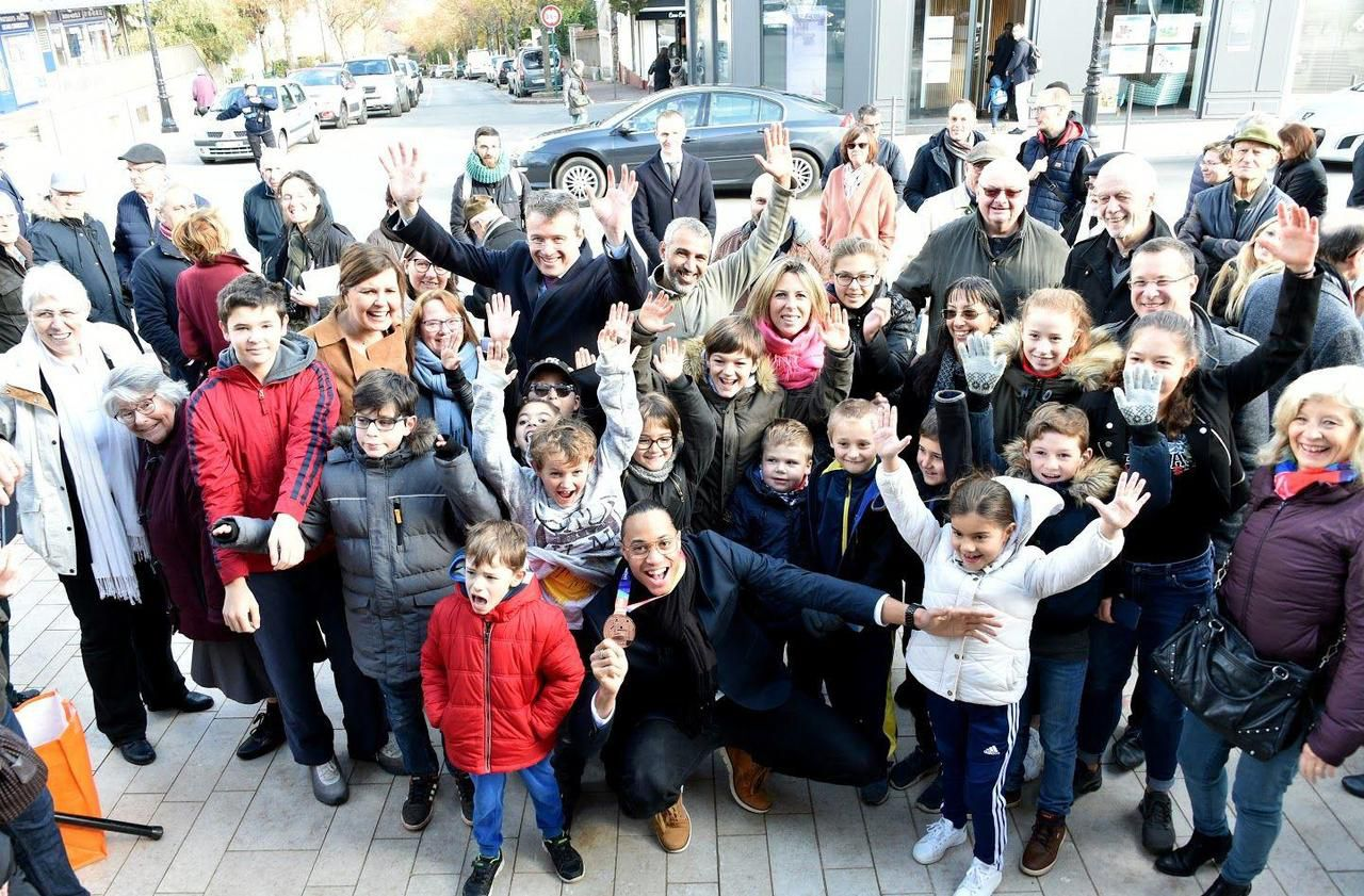 Essonne : Montgeron met à l'honneur son « champion » Pascal Martinot-Lagarde - Le Parisien