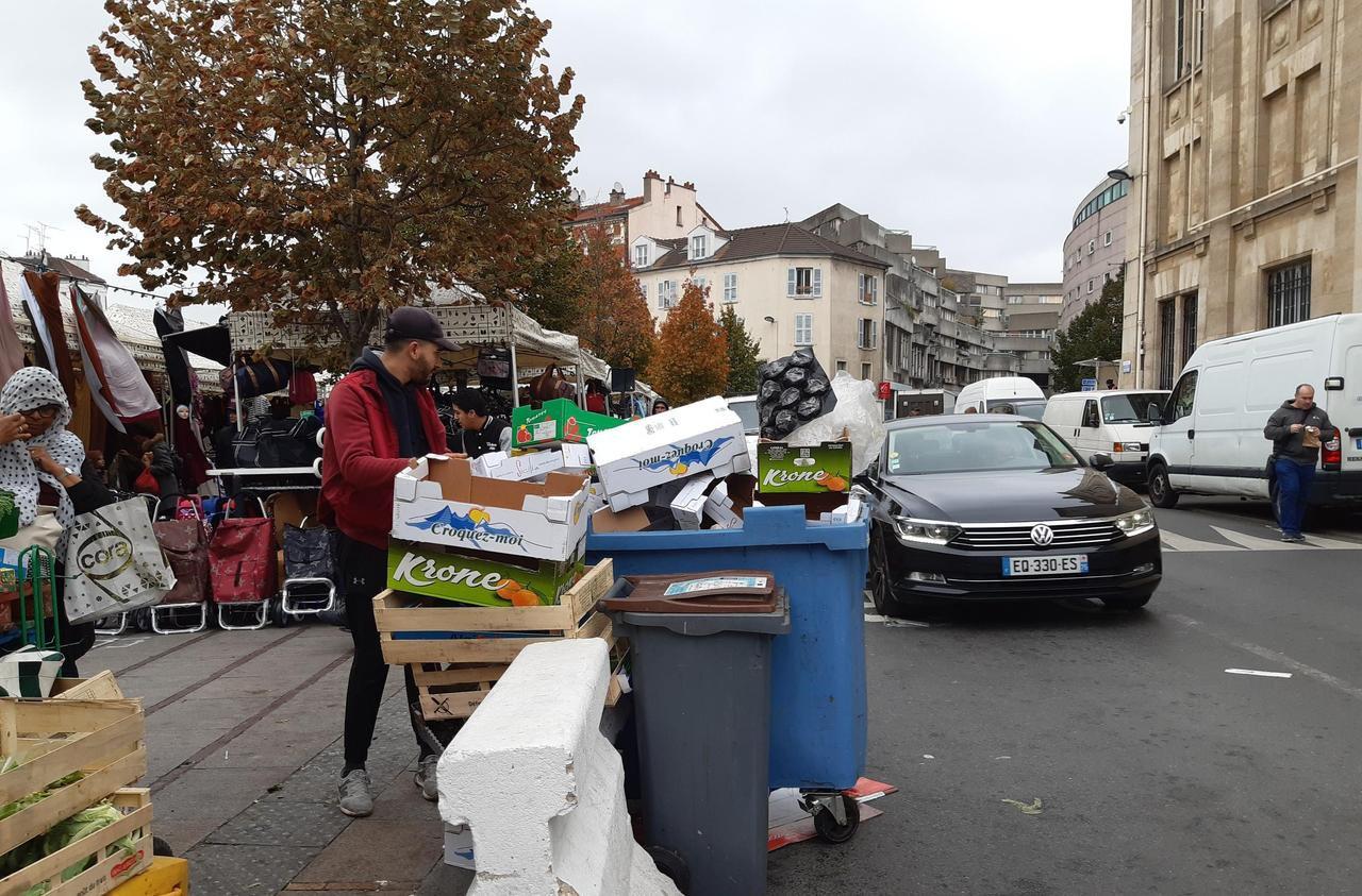 Municipales à Saint-Denis : l'impossible guerre contre la saleté - Le Parisien