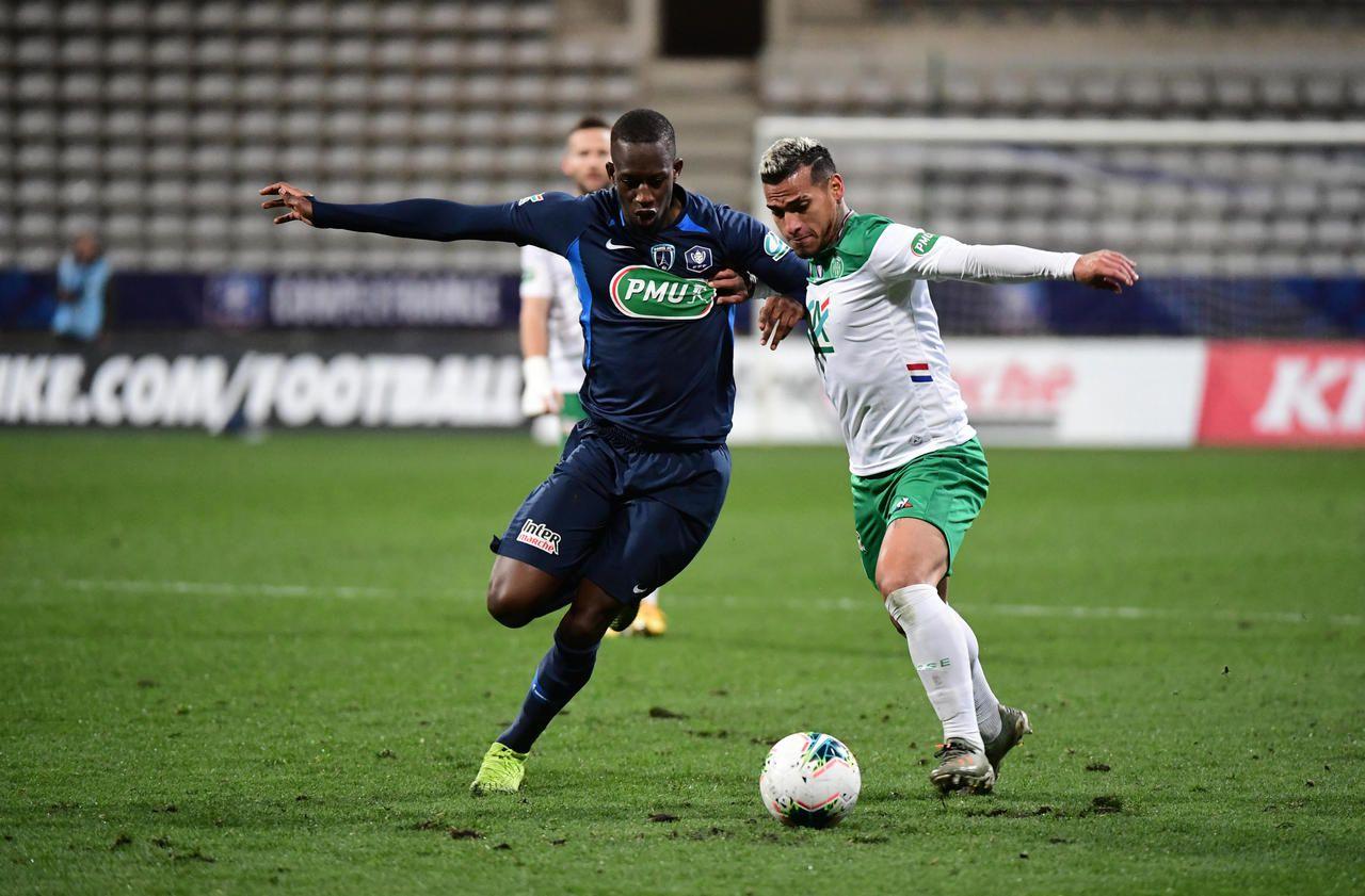 Coupe de France: le Paris FC y a longtemps cru face à Saint-Etienne