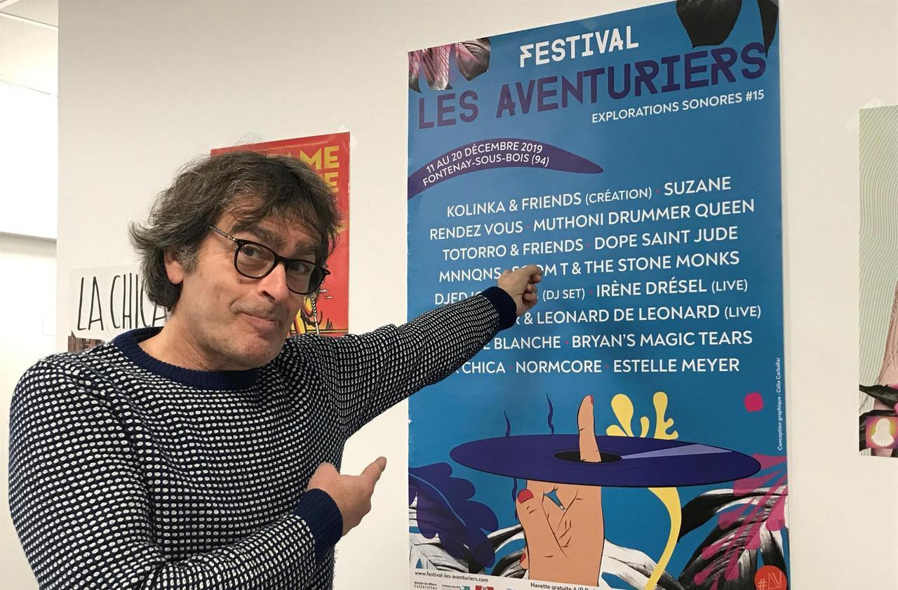 Richard Kolinka rejoue les Aventuriers à Fontenay-sous-Bois