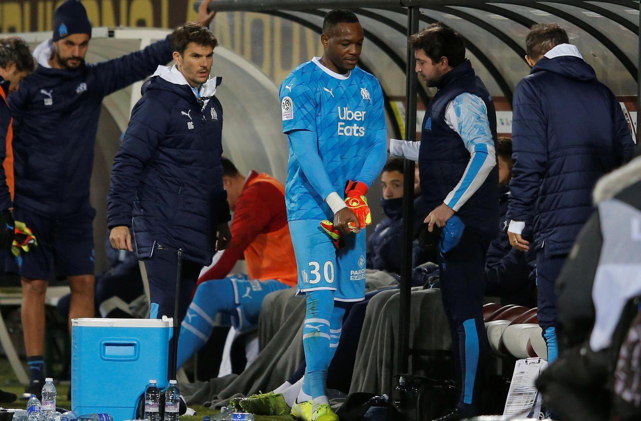Marseille : des nouvelles rassurantes de Steve Mandanda après sa blessure