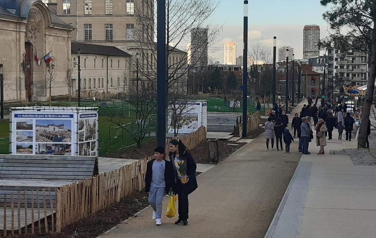 Le Kremlin-Bicêtre s'aère avec le nouveau parc de Bicêtre