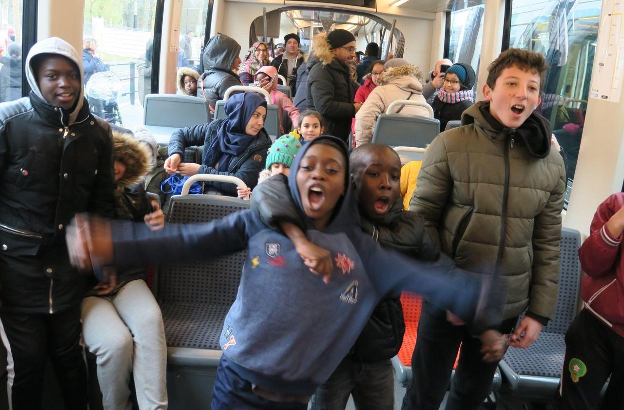 Inauguration du T4 en Seine-Saint-Denis : «Ce tram va changer notre vie!»