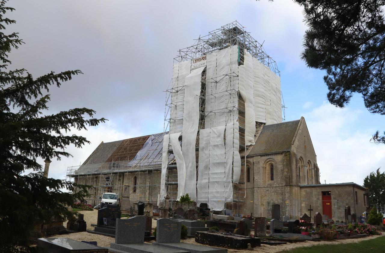Calvados : fermée depuis dix ans, l'église de Cairon se refait une santé