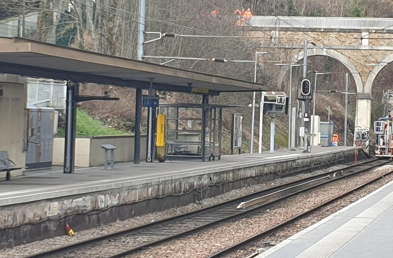 Hauts-de-Seine - Yvelines : après l'éboulement du talus de la SNCF, le trafic reprendrait début mars