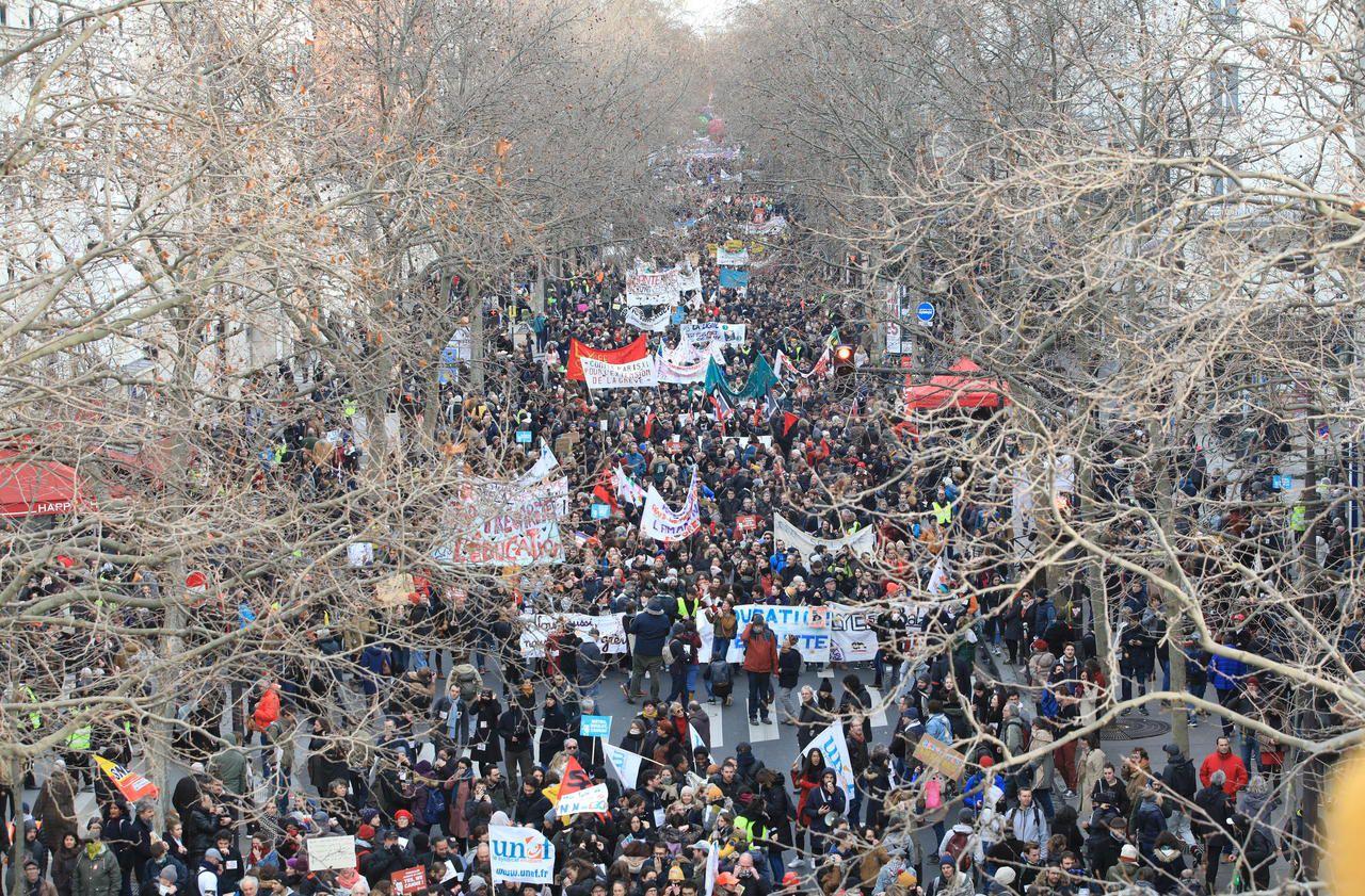 Retraites : nouvelle journée «massive» de grève et manifestations le 24 janvier