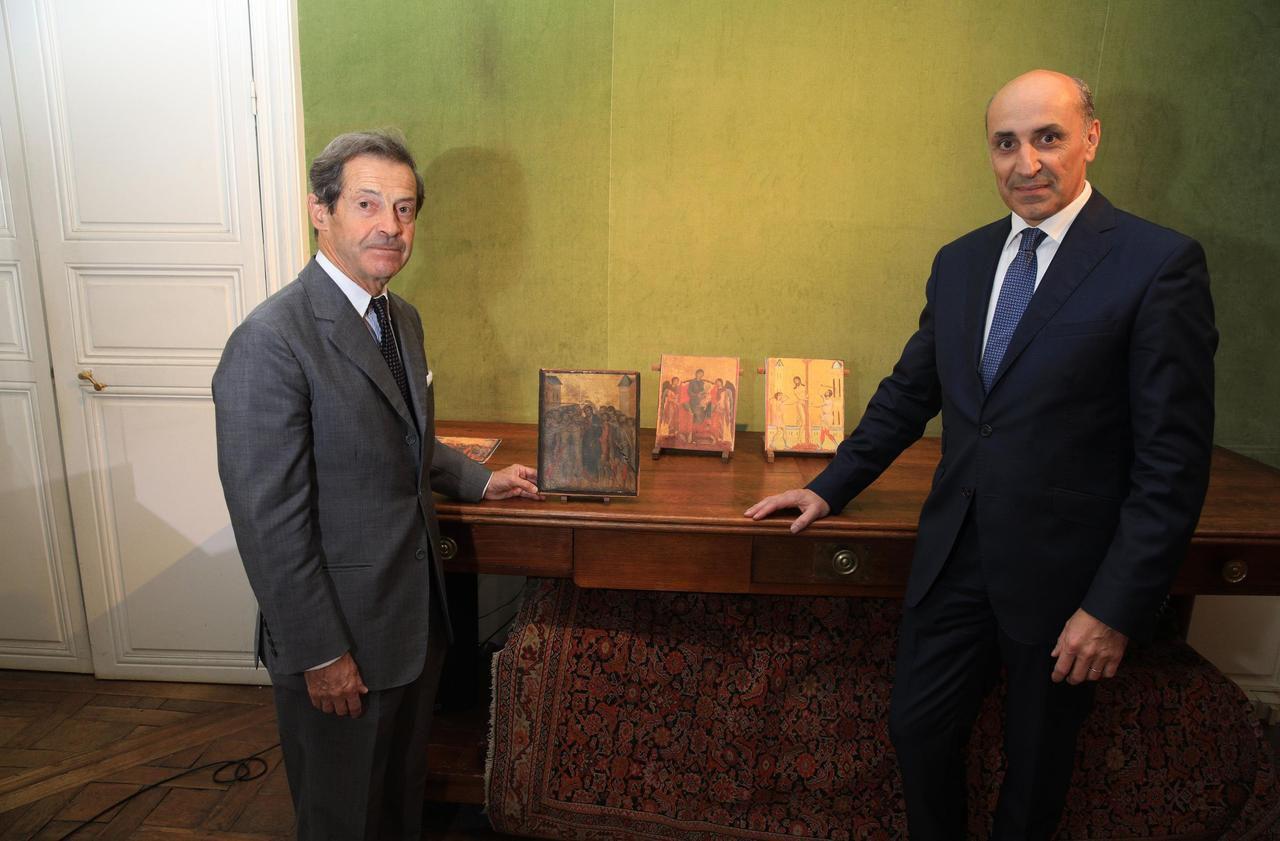 Senlis : ce tableau d'un maître florentin pourrait s'envoler pour 6 M€