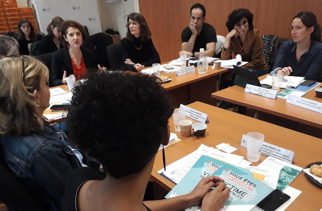 Lutte contre les violences faites aux femmes : Clichy montre l'exemple - Le Parisien