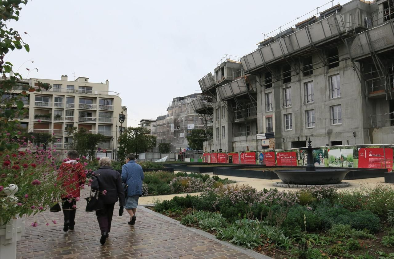 Municipales à Chelles : le parc du Souvenir, une oasis cernée par le béton - Le Parisien