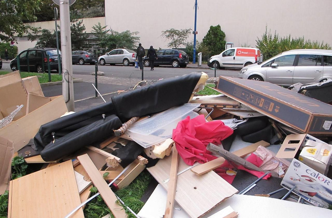 Municipales à Colombes : les dépôts sauvages, fléau des quartiers Nord - Le Parisien