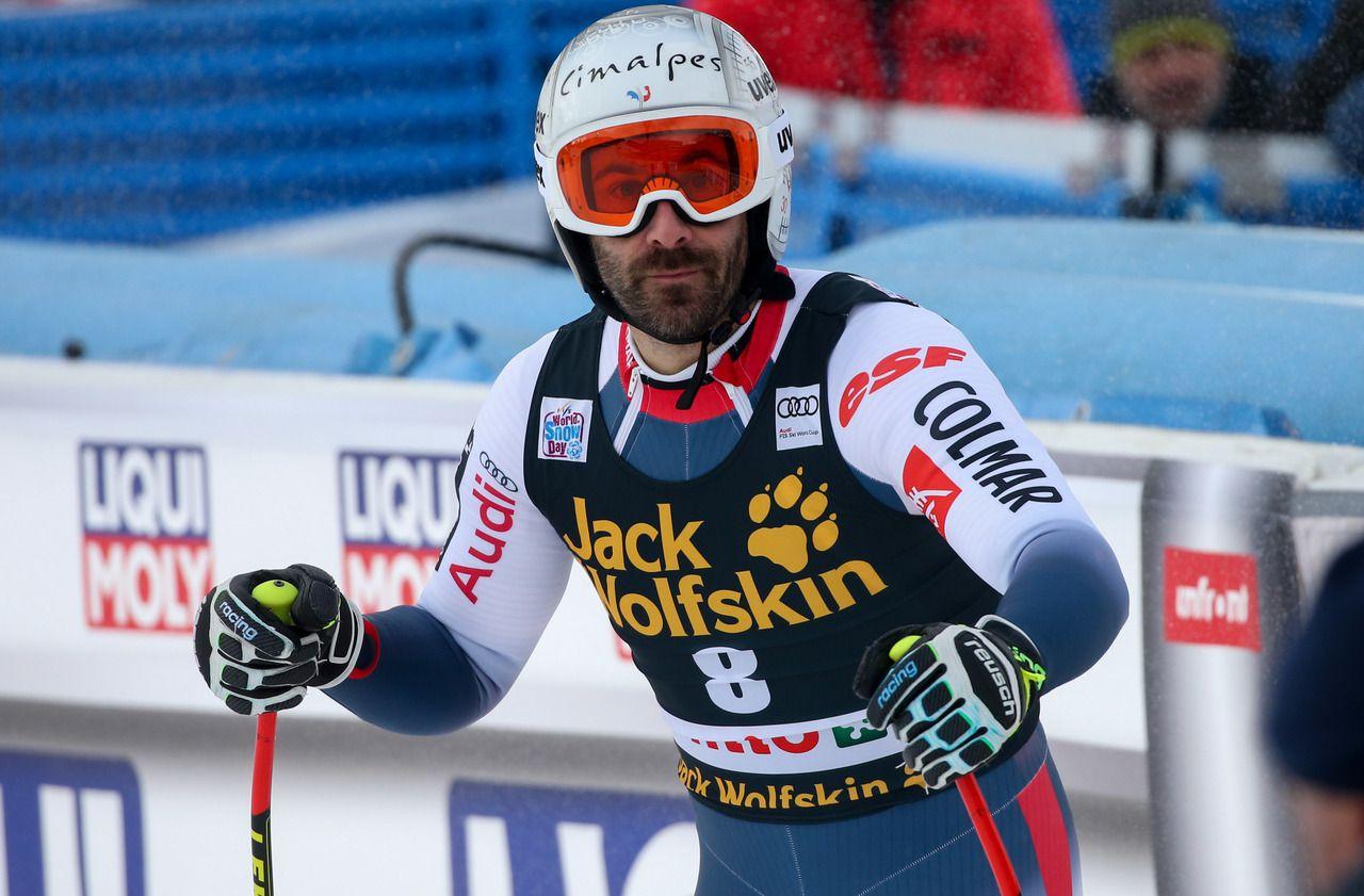 Ski alpin : grave blessure pour Adrien Théaux