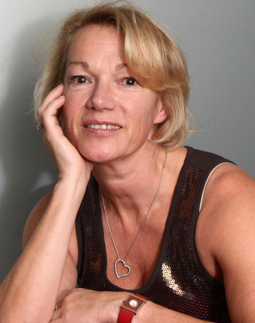 Brigitte Lahaie invitée par les patrons - Le Parisien