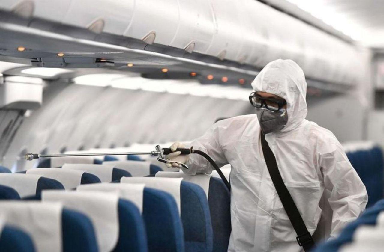 Coronavirus : le trafic aérien subit sa plus forte baisse depuis le 11-Septembre