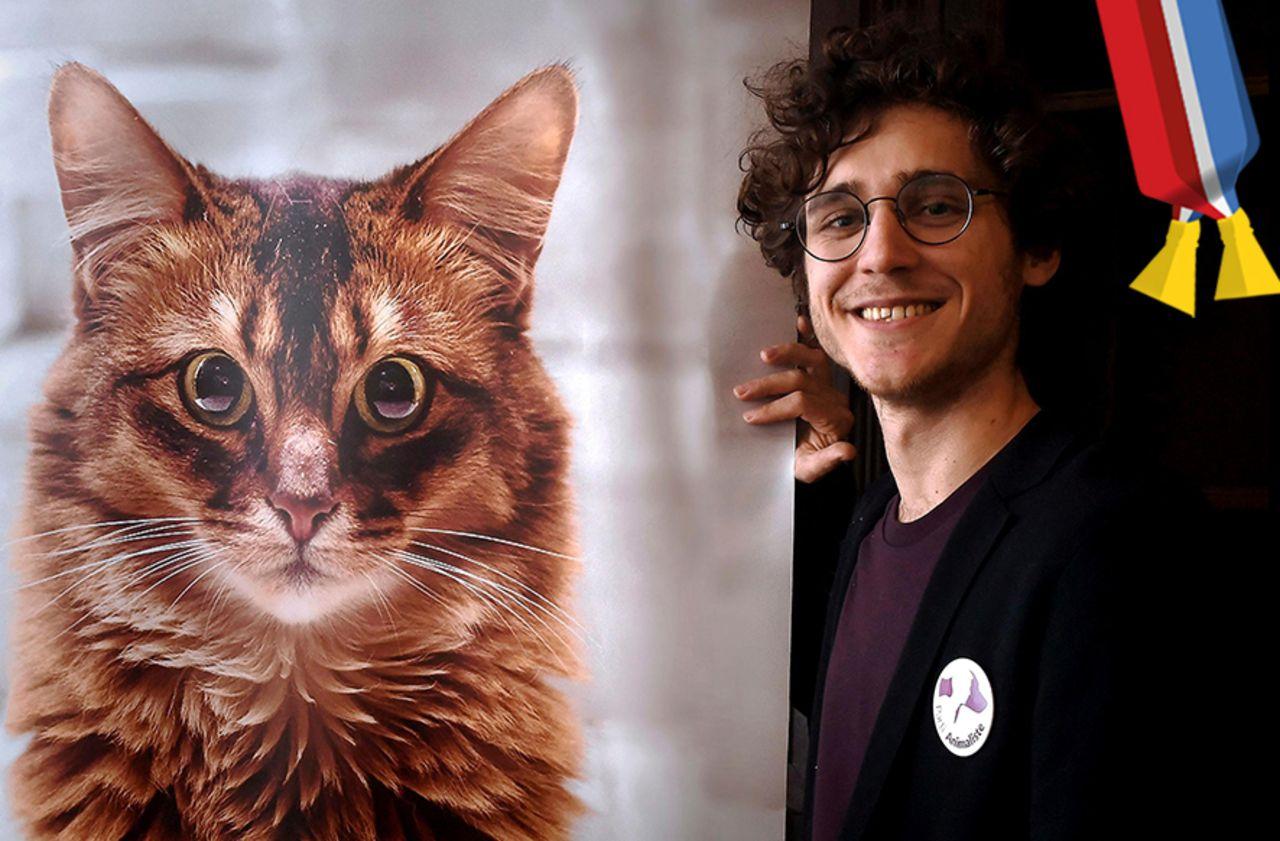 Municipales 2020 : à Toulouse, ce candidat veut faire monter chats et chiens dans le bus