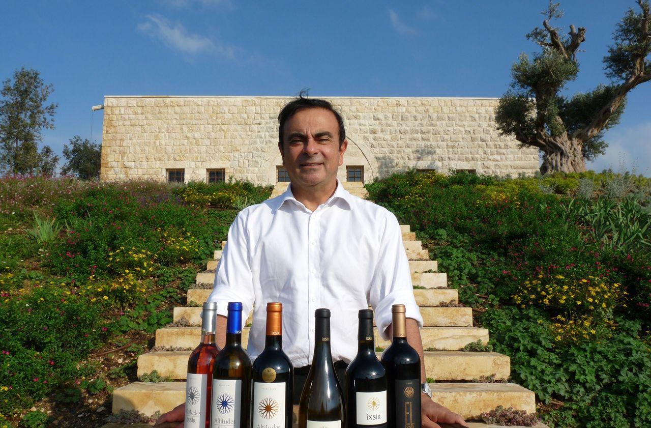 Carlos Ghosn, enraciné au Liban par la vigne