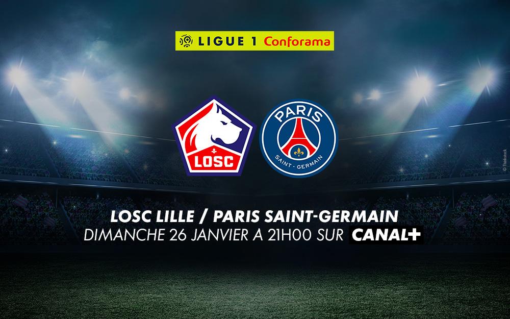 Lille - PSG : profitez d'un mois offert pour regarder CANAL+