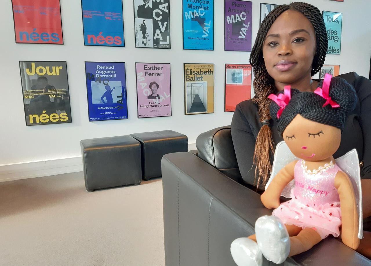 Val-de-Marne : Little Nappy, la poupée qui dit oui à la diversité