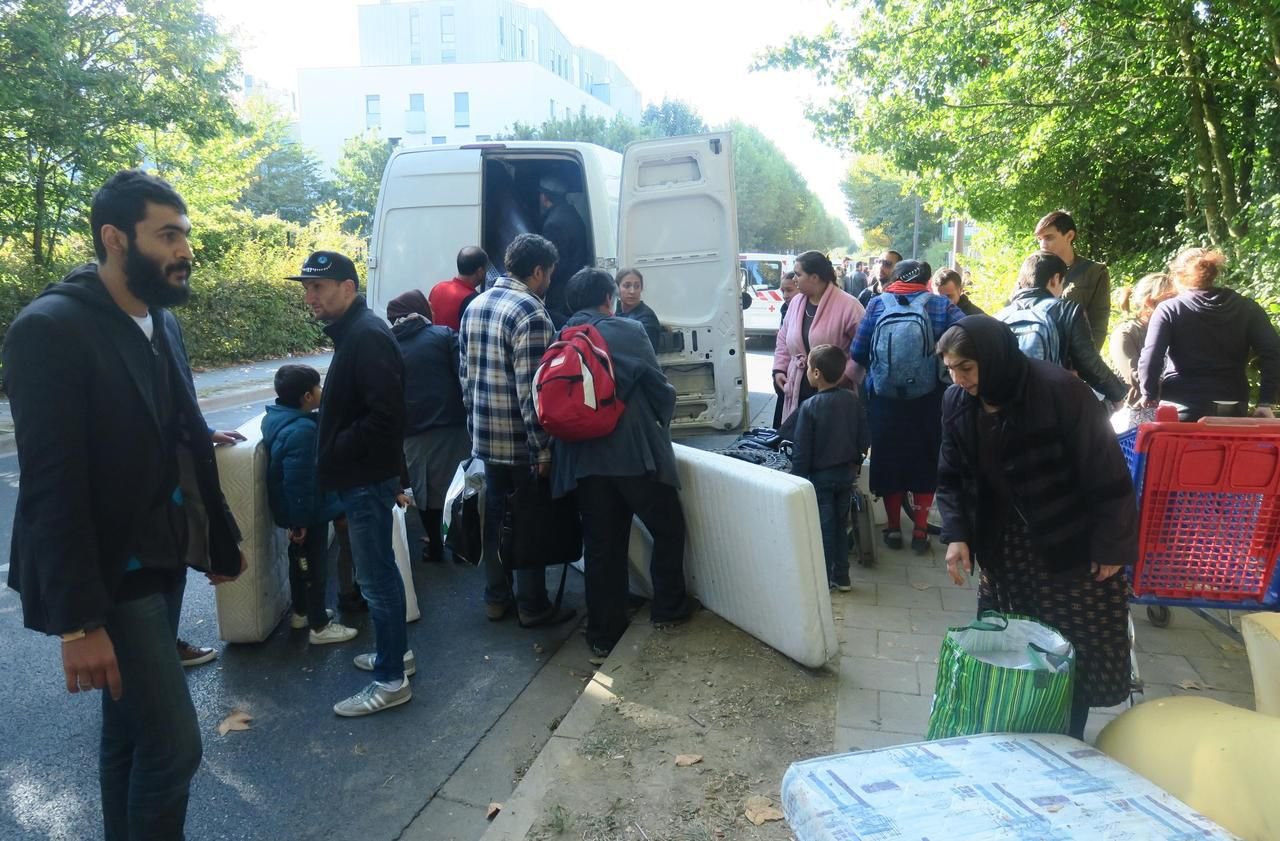 Bussy-Saint-Georges : les Roms et Moldaves évacués du petit bois