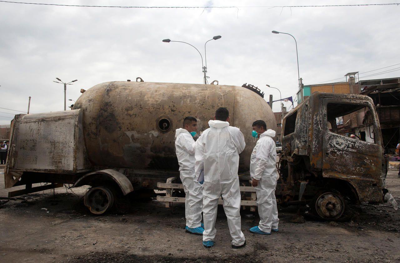Pérou : quatre morts dans l'impressionnante explosion d'un camion transportant du gaz