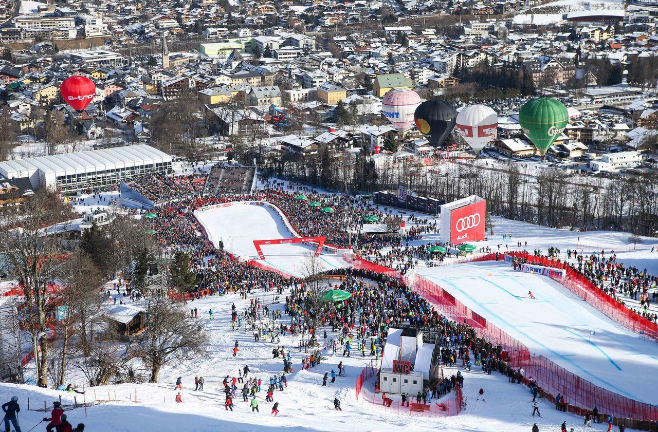 Ski alpin : mes jours et mes nuits dans l'enfer de Kitzbühel