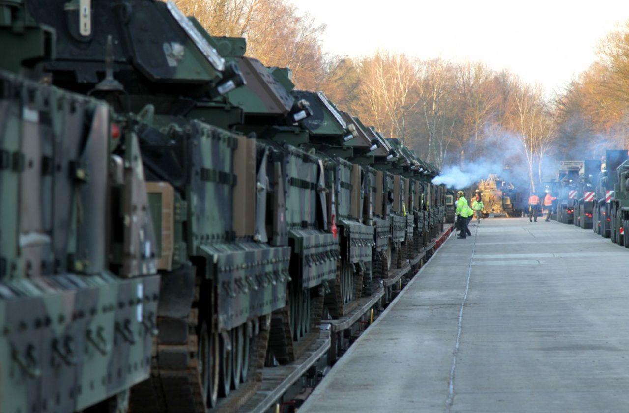Exercices militaires : l'armée américaine débarque en Europe