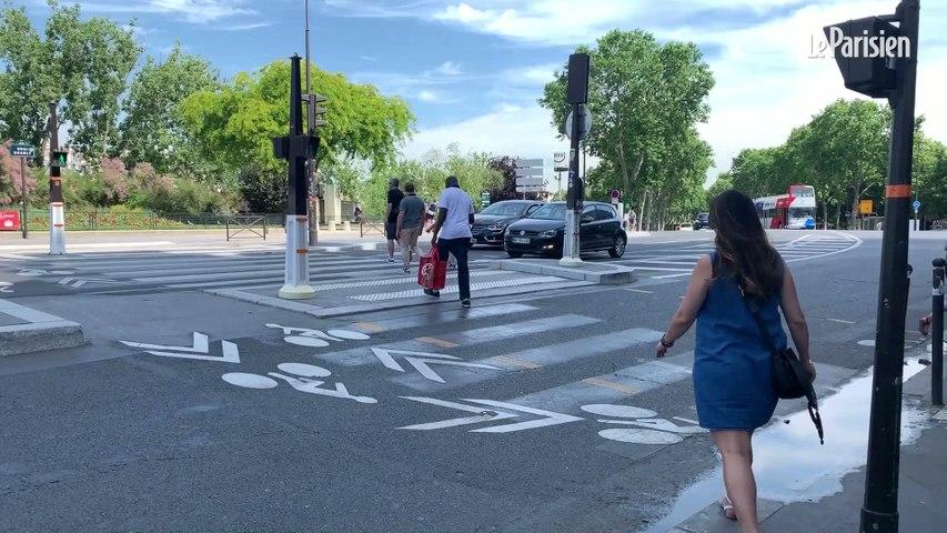 Touristes et passage piétons à Paris: «J'ai failli me faire renverser deux fois !»