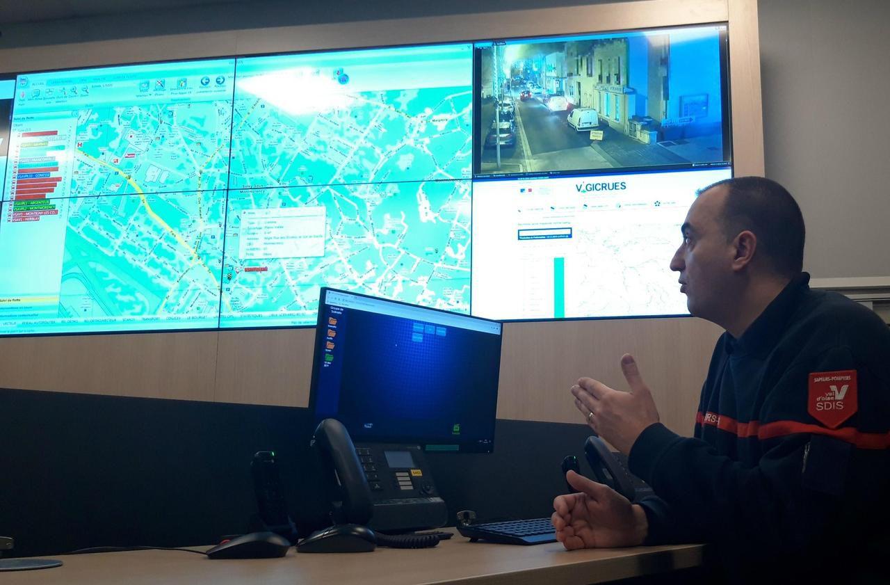 La vidéosurveillance, nouvel outil sécurité des pompiers du Val-d'Oise