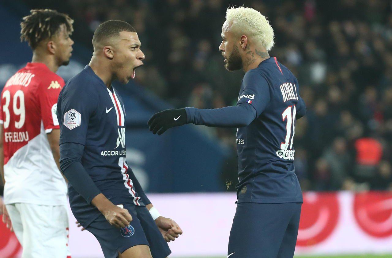 PSG : Mbappé et Neymar, joueurs les plus chers des clubs champions en Europe