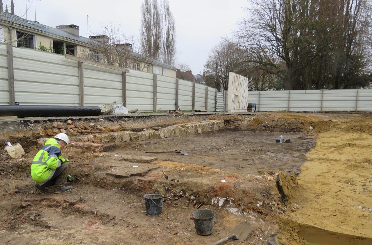 De nouvelles fouilles archéologiques pour le théâtre de Beauvais