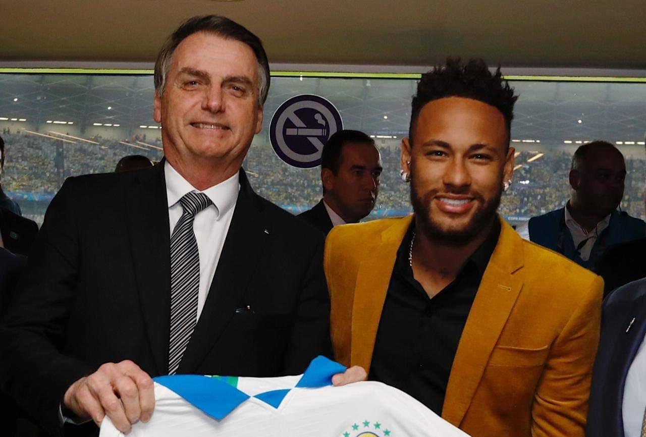 Brésil : Neymar et le président Bolsonaro, la cour permanente