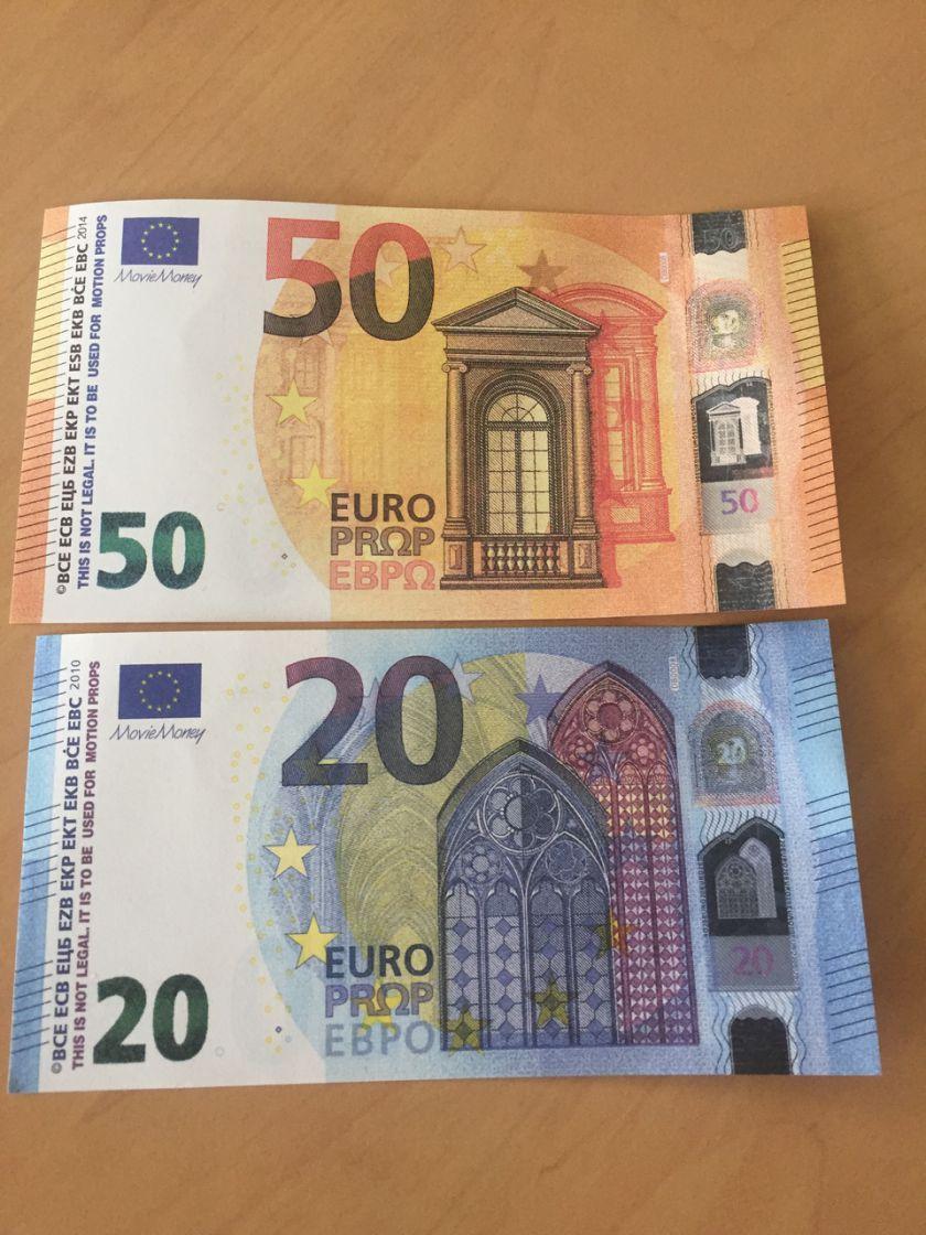 Movie Money Euro