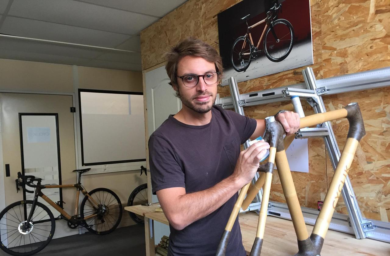 Ses vélos en bambou sont 100% français