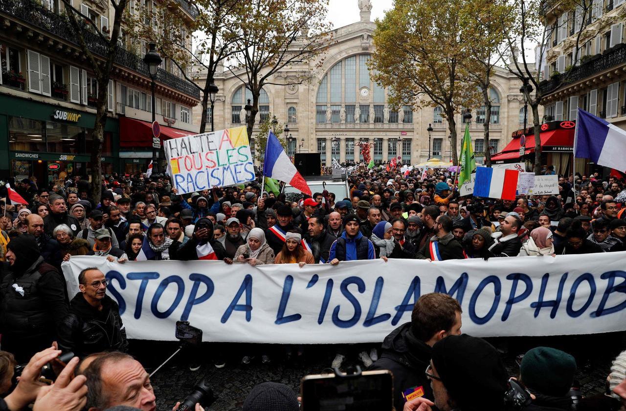 Marche contre l'islamophobie : chez les politiques, plus d'absents que de présents - Le Parisien