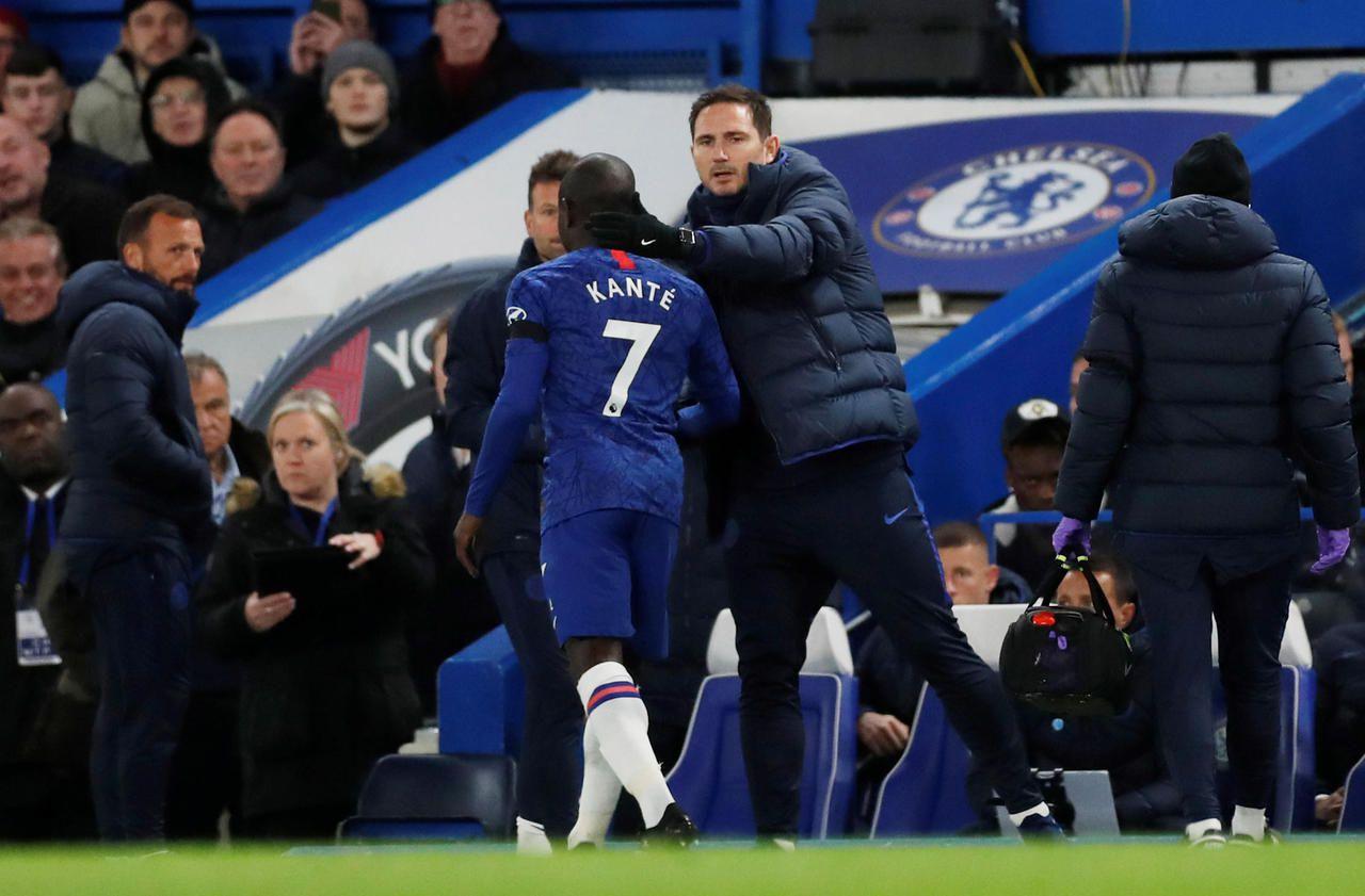 N'Golo Kanté se blesse avec Chelsea, son entraîneur se dit inquiet